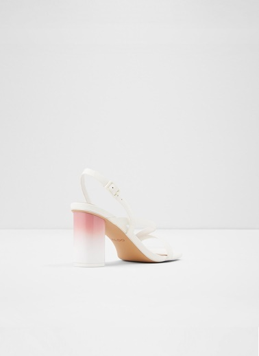 Aldo Adiemwen - Beyaz Kadin Topuklu Sandalet Beyaz